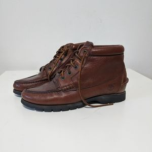 Vintage Timberland Leather Ankle Boot